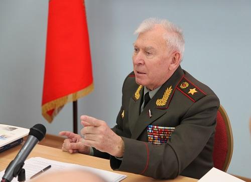 Председатель РСВ генерал армии М.А. Моисеев встречался с ...