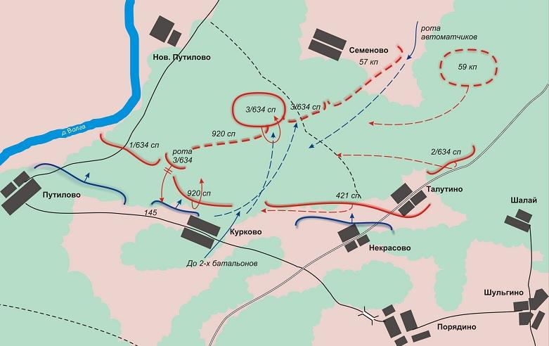 Здесь мужественно сражались воины 270-го и 272-го стрелковых полков 10-й дивизии войск нквд