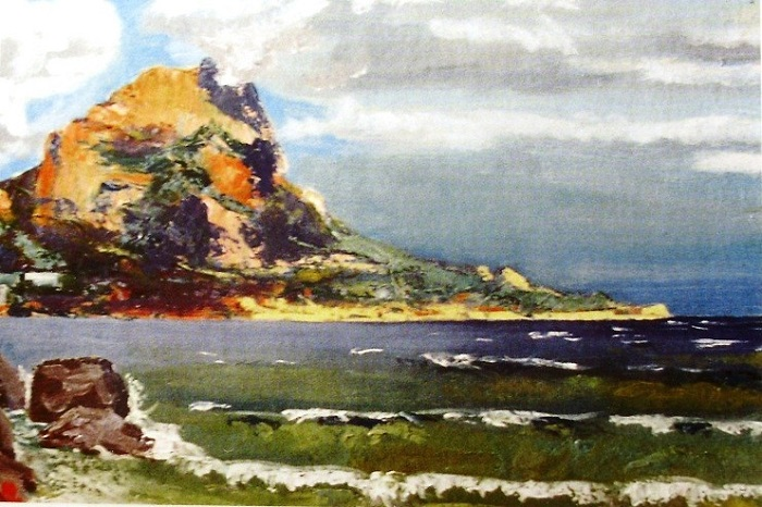 Бухта Батилиман. Штормит