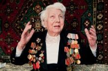 Александра Андреевна Абакумова из Уфы защищала Родину в войсках противовоздушной обороны
