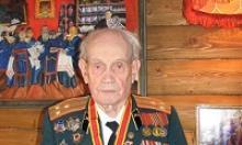 Ветерану Великой Отечественной войны, участнику битвы под Москвой Алексею Сергеевичу Агафонову исполнилось 95 лет