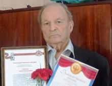 Ветерану Великой Отечественной войны из Калуги Сергею Никоноровичу Ануфриеву исполнилось 95 лет