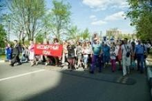 В столице военного космоса России – Краснознаменске - массовыми мероприятиями отметили 71-ю годовщину Великой Победы