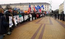 Калужское региональное отделение Российского Союза ветеранов приняли участие в антитеррористической акции на Театральной площади города