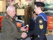 Российский Союз ветеранов и Союз подводников России провели урок мужества для воспитанников кадетских корпусов