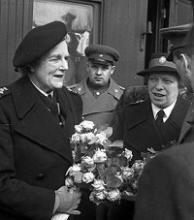 Доброе дело Клементины Черчилль помнят и ветераны войны и их благодарные потомки
