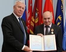 Кошаку Виктору Яковлевичу, главному специалисту Российского Союза ветеранов, исполнилось 70 лет