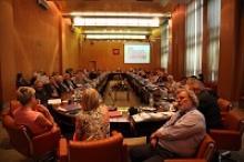 70 лет ракетно-космической отрасли отметило научное сообщество России специальным круглым столом, в заседании приняла участие делегация Российского Союза ветеранов