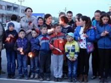 """В Красночетайском районе прошла акция """"Свечи памяти"""", посвященная павшим героям Великой Отечественной войны, в память о подвиге которых зажигаются свечи"""