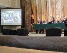 Члены Российского Союза ветеранов – делегаты съезда Федерации космонавтики России заслушали и утвердили отчётный доклад президента Федерации