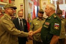 Традиция кубинских военных дипломатов сотрудничать с Российским Союзом ветеранов