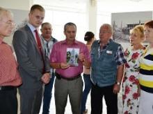 Активисты Чувашского республиканского отделения Российского Союза ветеранов осмотрели выставку, посвященную советским военнопленным, находившимся в годы Великой Отечественной войны в Норвегии