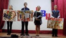 Активисты Вожегодского районного отделения Российского Союза ветеранов помогли провести заседание Клуба весёлых и находчивых между учащимися местных школ