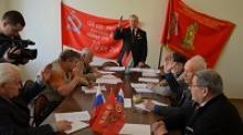 Калужские ветераны - за возвращение памятника Ленину на историческое место