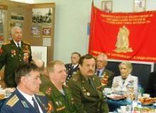 Президиум комитета Кемеровской областной организации Российского Союза ветеранов организовал торжественный приём участников Великой Отечественной войны и вдов фронтовиков