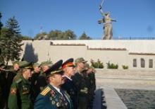 75-летие 20-й Прикарпатско-Берлинской Краснознамённой ордена Суворова II степени отдельной мотострелковой бригады торжественно отметили на Мамаевом кургане