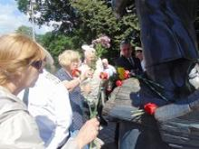 Активисты Калининградского регионального отделения День Военно-морского флота России отметили  у памятника Александру Ивановичу Маринеско