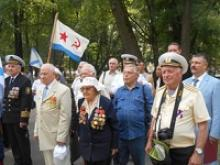 Вологодское региональное отделение Российского Союза ветеранов широко и активно участвовало в праздновании Дня Военно-морского флота России