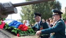 День танкиста в городе-герое Волгограде отметили на Мамаевом кургане