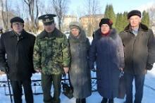 Жители Ефремова Тульской области торжественно отметили 75-летие освобождение города от немецко-фашистских захватчиков