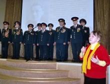 Члены комиссии по патриотической работе при Российском Союзе ветеранов участвовали в мероприятии, посвященном памяти и творчеству советского поэта-песенника военного времени Алексея Ивановича Фатьянова