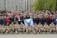 Ветеранская общественность Тульской области и молодёжь встретила 6-ю героико-патриотическую экспедицию