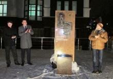 Активисты Вологодского регионального отделения Российского Союза ветеранов  участвовали в открытии в Вологде  горельефа артисту Николаю Олялину