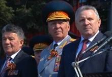 Парад Победы в Хабаровске 9 мая 2016 года (ВИДЕО)