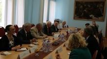 Делегация Посольства Итальянской  Республики  и учёных-историков Италии посетила Российский Союз ветеранов