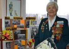 Участнице трёх парадов Победы Алле Николаевне Мельниковой 95 лет