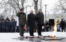 Активисты Вологодского регионального отделения Российского Союза ветеранов участвовали в митинге, посвященном Дню Неизвестного солдата