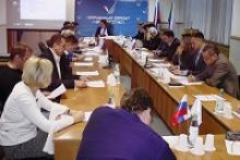Члены Российского Союза ветеранов участвовали в заседании Хабаровского регионального штаба Общенародного фронта