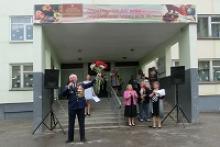 В городе-герое Туле учебных заведениях состоялись торжественные линейки, посвященные 73-й годовщине Великой Победы и везде активно участвовали члены Российского союза ветеранов