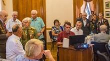 В Нижегородском областном Доме ветеранов состоялось торжественное заседание, посвященное победе в Курской битве
