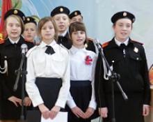 В День ВЛКСМ комсомольцы разных поколений встретились с учениками трёх школ Гурьевского района Калининградской области