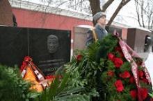 Руководители Российского Союза ветеранов почтили память Героя Советского Союза Маршала Советского Союза Семёна Константиновича Куркоткина
