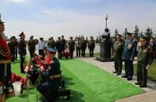 Делегация Российского Союза ветеранов почтила память маршала артиллерии Владимира Михайловича Михалкина в день 90-летия со дня его рождения