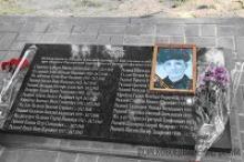 В станице Раздорской Ростовской области установлена памятная плита с именами пограничников, защищавших переправу через Дон