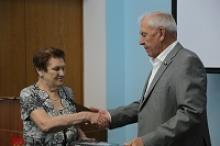 Ия Васильевна Бубнова, советник председателя Российского Союза ветеранов, отметила свой юбилей
