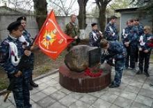 В день Великой Победы ветераны и молодёжь Переславского муниципального района Ярославской области почтили память сотрудников  милиции,  погибших при исполнении служебных обязанностей