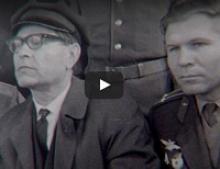 Кинофильм о приезде А. П. Маресьева в город Петрозаводск