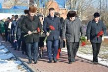 В Семикаракорске Ростовской области отметили 74-ю годовщину освобождения города от немецко-фашистских захватчиков