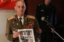 Участник взятия Берлина в 1945 году Виктор Петрович Шабров рассказал калининградским школьникам о Великой Отечественной войне, об участии в ней тех, кто не достиг призывного возраста