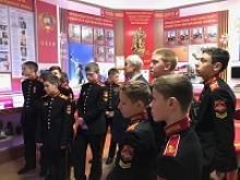 Воспитанники Московского военного суворовского училища ознакомились с историей Российского Союза ветеранов