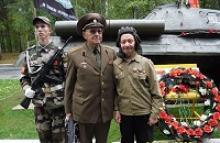 Члены Удмуртского республиканского отделения Российского Союза ветеранов чествовали танкистов