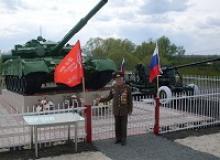 Активисты Чувашского республиканского отделения Российского Союза ветеранов участвовали в открытии Монумента защитникам Отечества в селе Старые Алгаши Ульяновской области