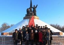 Члены Чувашской республиканской организации Российский Союз ветеранов провели урок мужества с чебоксарскими лицеистами о боевом пути,  сформированной в Чувашии 139-й стрелковой дивизии