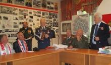 Совместная работа ветеранов Орловской и Свердловской областей