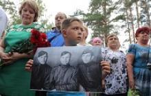 Активисты Вологодского регионального отделения Российского Союза ветеранов участвовали в захоронении останков советских лётчиков, погибших в годы Великой Отечественной войны в Бабаевском районе