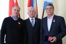 Друзья Российского Союза ветеранов посетили Дом российских ветеранов в Москве на Гоголевском бульваре
